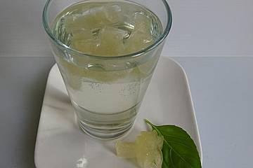 Gefrorenes Kräuterwasser