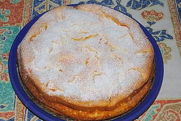 Eiweißkuchen mit Mandarinen und Eierlikör
