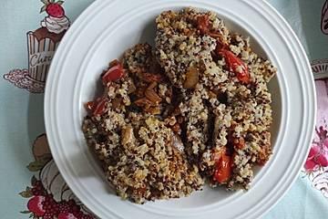 Quinoa-Auflauf aus Bolivien
