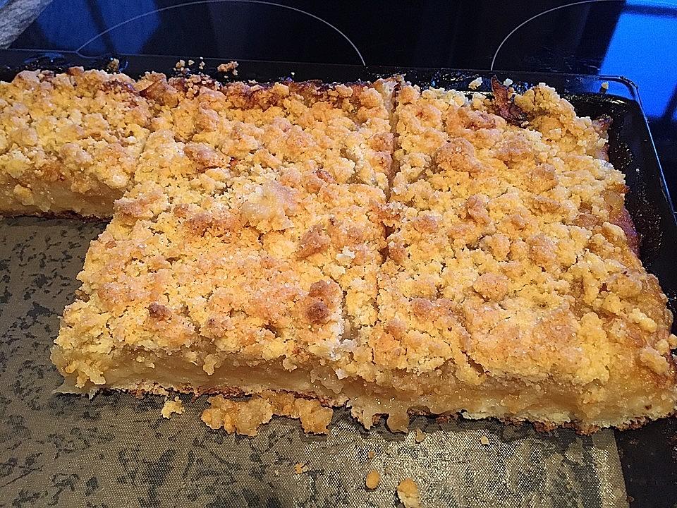 Apfel - Streuselkuchen vom Blech von alina1st | Chefkoch