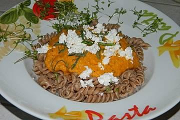 Möhren -  Tomaten - Sauce für Pasta