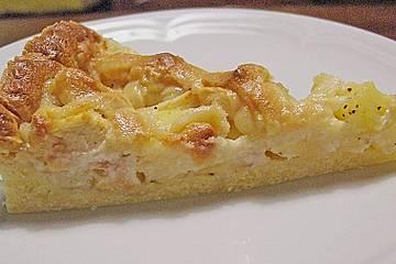 Apfel - Marzipan - Torte