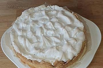 Laras Heidelbeer - Kokos - Kuchen mit Baiser