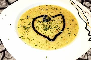 Pastinaken - Apfel - Suppe