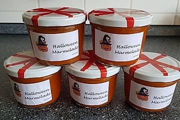Halloween - Kürbis - Marmelade