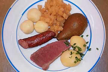 Fleisch - Mehlklöße - Eintopf