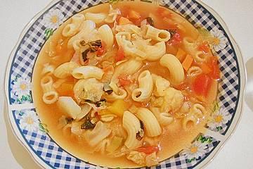 Vegetarische Minestrone alla milanese