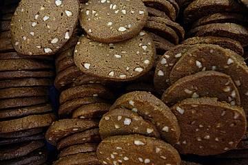 Braune Weihnachtskekse.Dänische Braune Kuchen Brune Kager