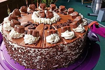 Milka Herzen Torte Von Claudia82 Chefkoch
