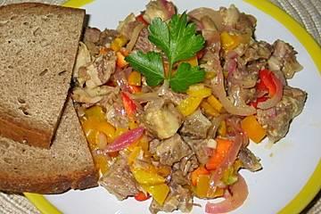 Paprika - Rindfleischsalat à la Kerstin