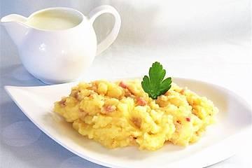 Kartoffelbrei mit Buttermilch
