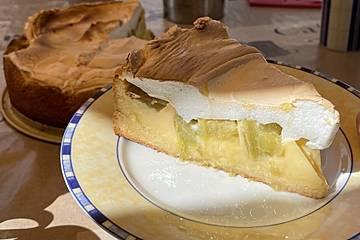 Rhabarber Blechkuchen