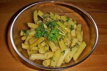 Wachsbrechbohnen - Salat