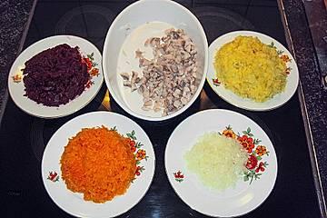 Russischer salat pod schuboj