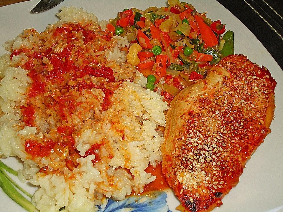 Kreolische Hühnerbrust