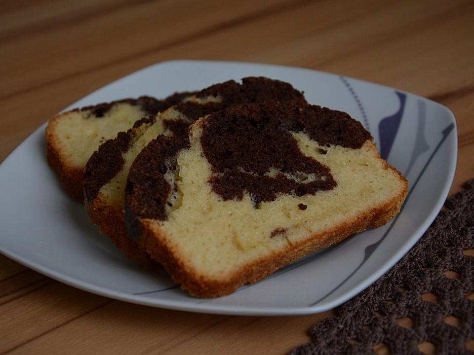 Öl statt butter marmorkuchen mit Kuchen Backen