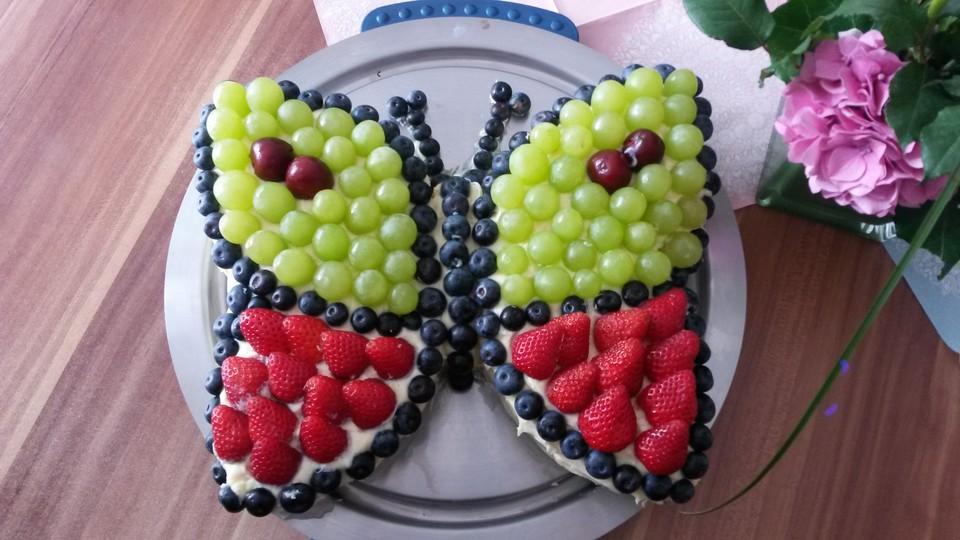 Schmetterlingskuchen Fur Kinder Rezepte Chefkoch De