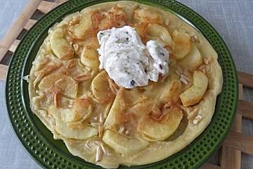 Apfelpfannkuchen nach Oma Lisbeth