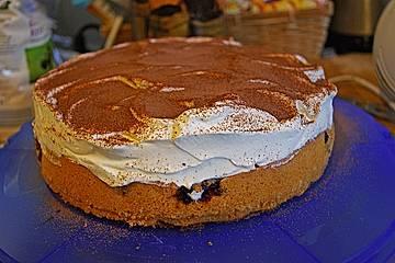 Sauerkirsch - Schmand - Kuchen