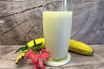 Joghurt - Bananen - Milchshake