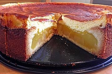 Birnen - Sekt - Kuchen