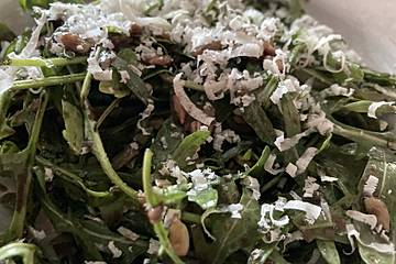 Klassischer Rucola Salat