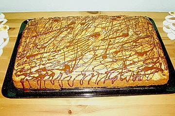 Möhren - Marzipan - Kuchen