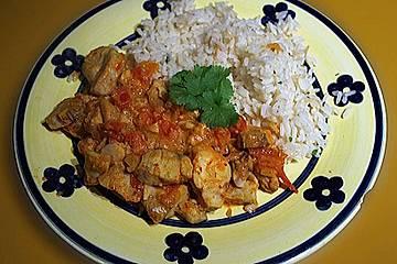 Bengalisches Fisch - Curry
