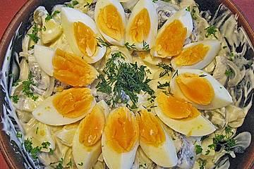 Bismarckhering - Salat