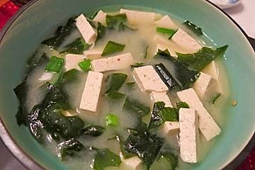 Tofu - Miso - Suppe