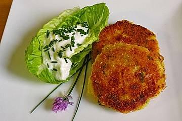 Romadurküchle auf Salat