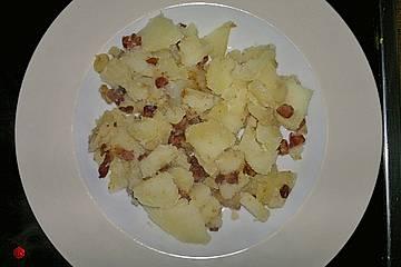 Kartoffeln mit Speck und Zwiebeln
