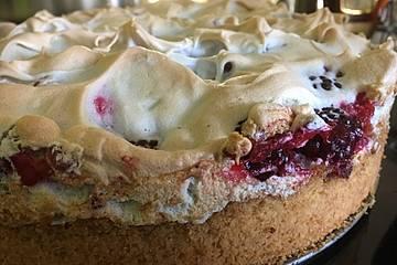 Brombeer - Baiser - Kuchen