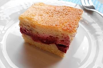 Schmand - Pflaumenkuchen