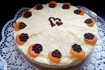 Mandarinen - Paradies - Kuchen