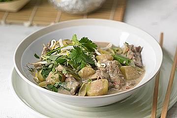 Thai - Töpfchen mit Rindfleisch