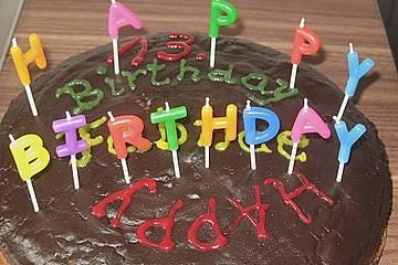 Mücke - Geburtstags - Kuchen