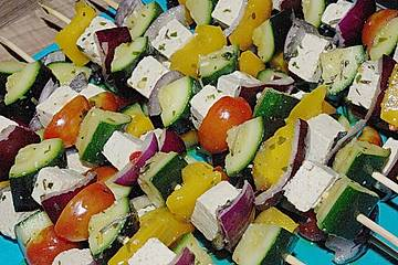Tofu - Spieße