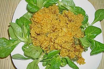 Quinoa mit Ananas und Ingwer