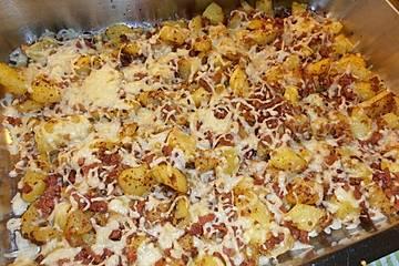Bratkartoffel - Auflauf