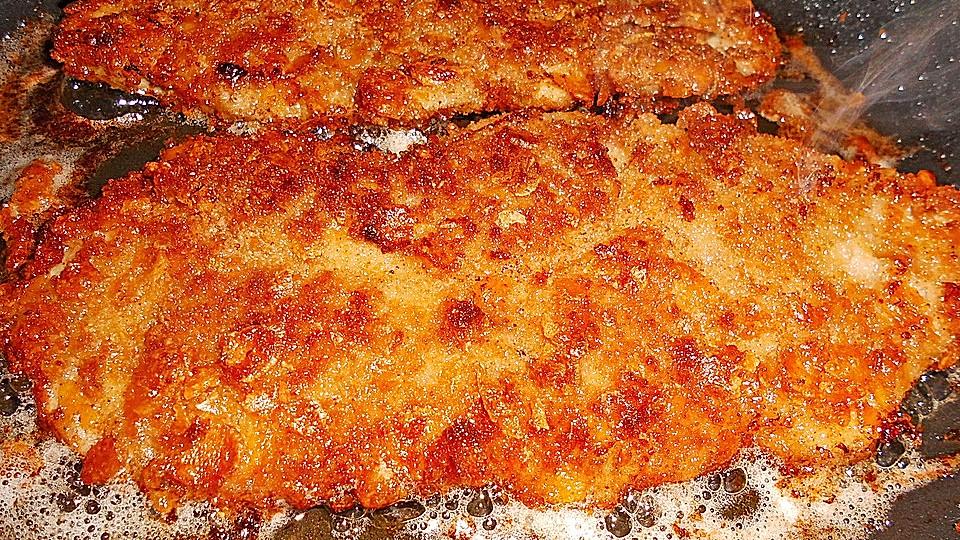 Schnitzel in Cornflakes - Kruste | Chefkoch