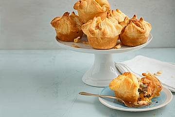 Spinat - Lachs - Muffins