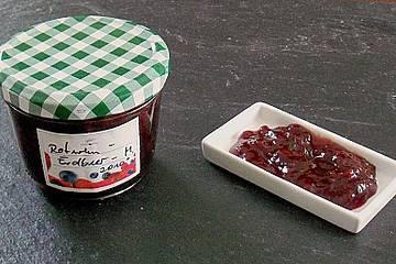 Rotwein -  Erdbeermarmelade