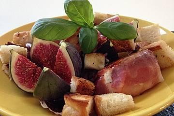 San - Daniele - Picandou - Taler mit Honig - Feige und Radicchio