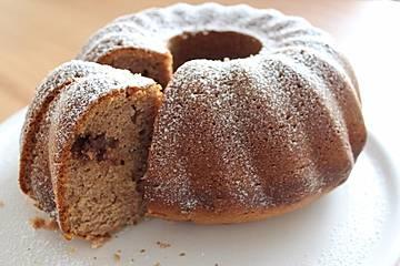 Schoko - Haselnuss - Quarkkuchen