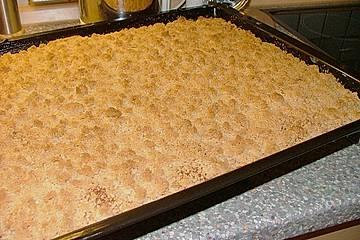 Sahne Streuselkuchen