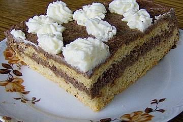 Nougatsahne - Torte