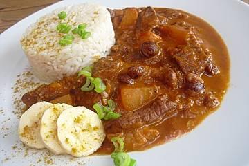 Rindfleisch orientalisch