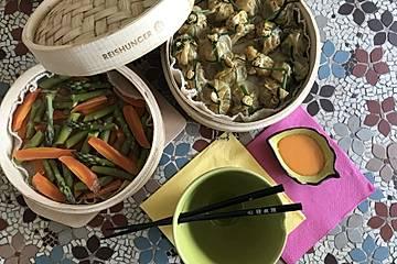 Wan Tan oder thailändische Dim Sum