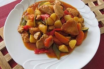 Hähnchen - Gemüse - Topf